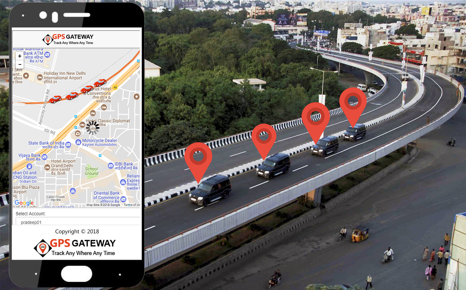 gps vehicle tracking system in agra , gps tracking device in lucknow,  car tracking device in Agra, GPS Tracking company agra